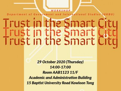 Workshop - Trust in the Smart City