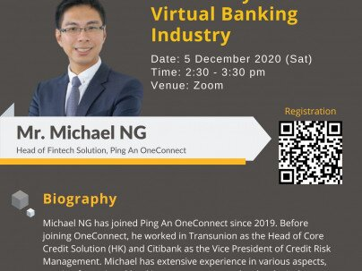 "CCL Public Lecture: "" Data analytics in Virtual Banking Industry"""