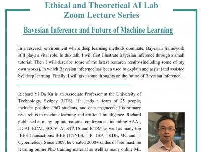 Ethical and Theoretical AI Lab Zoom Lecture Series