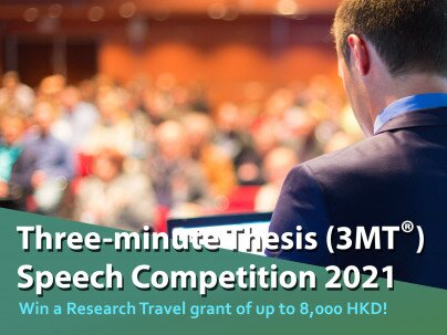 The Three-minute Thesis (3MT) Speech Competition 2021
