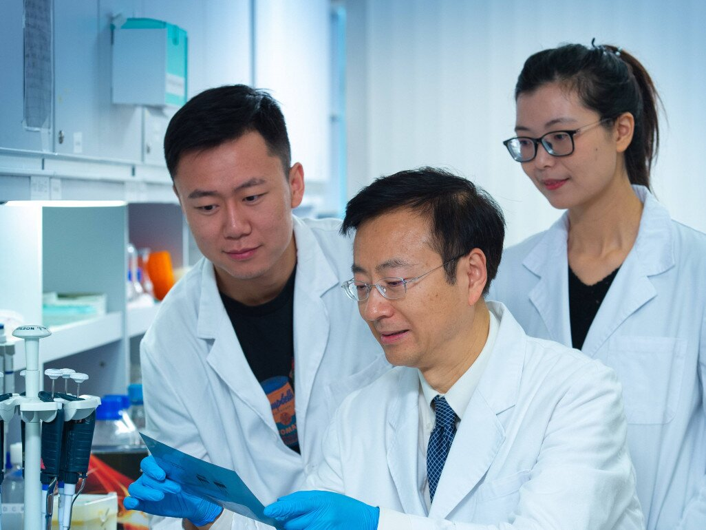 Prof. Wei JIA and his research team.